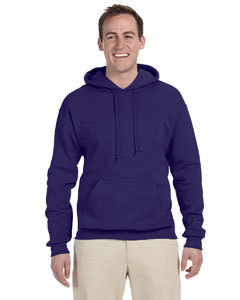 Fleece Pullover Hood with Embroidered Logo