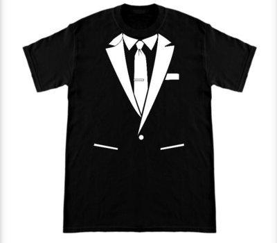 Suit Shirt Black
