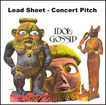 Idol Gossip Lead Sheet - Concert Pitch