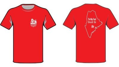 Red Barn Short-Sleeved T-shirt