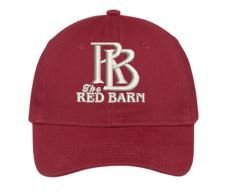 Red Barn Hat (Red- Design #1)