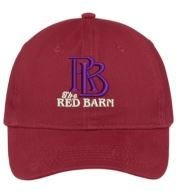 Red Barn Hat (Red- Design #2)