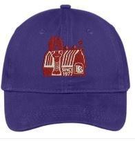 Red Barn Hat (Purple- Design #3)