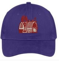 Red Barn Hat (Purple- Design #3)