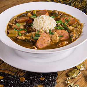 Chicken and Sausage Gumbo (1 Gallon) 4000100