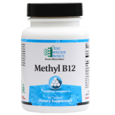 Methyl B12, 60 count