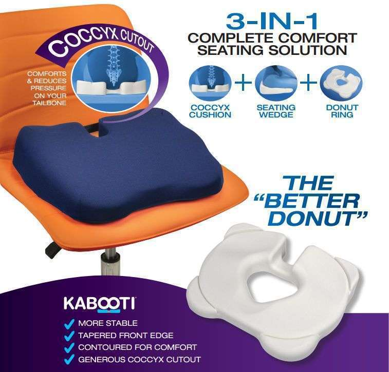 KABOOTI 3 in 1 Chair Cushion BEST SELLER