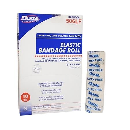 Compression Bandage Spandex 6x4.5 NonSterile