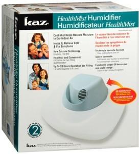 Kaz Health Mist Operation Cool Mist Humidifier