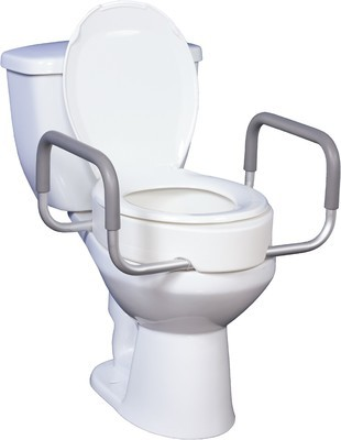 Essential Elongated Toilet Seat Riser