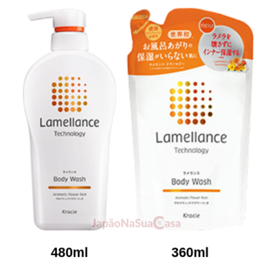 Kracie Lamellance Body Wash - Aromatic Flower Rich