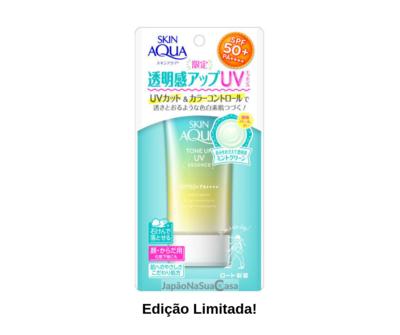 SKIN AQUA Tone Up UV Essence MINT GREEN SPF50+ PA++++