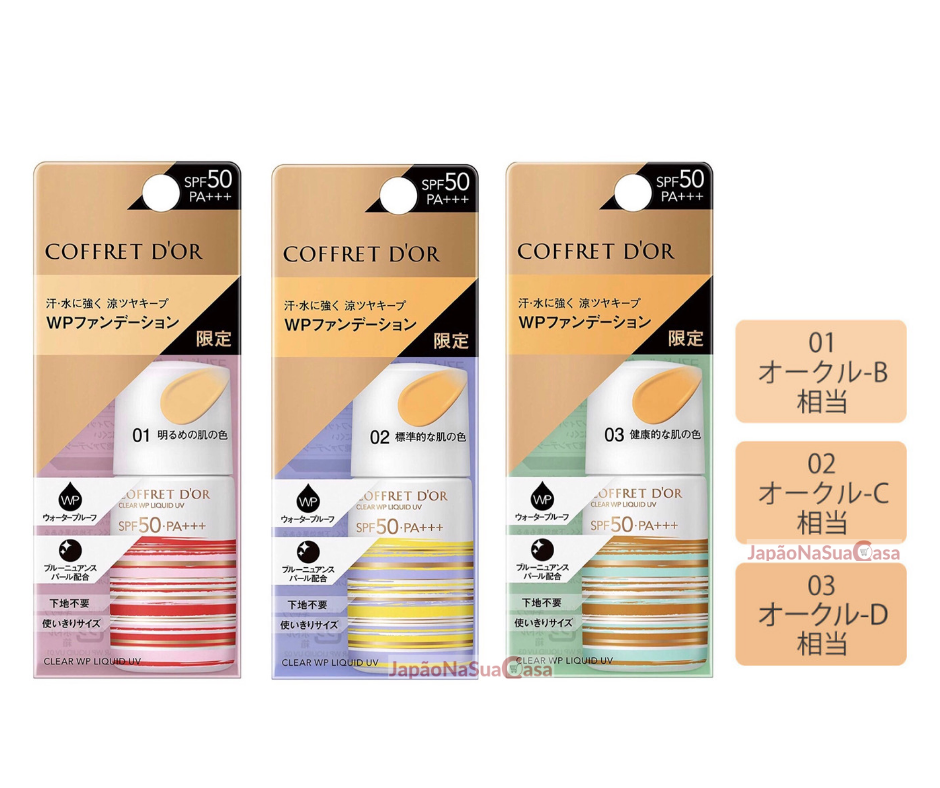 Coffret D'or Clear WP Liquid UV SPF50 PA++++