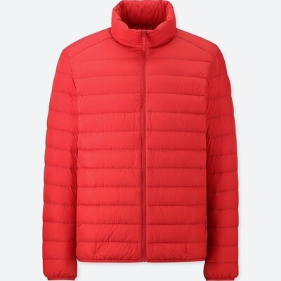 UNIQLO ULTRA LIGHT DOWN JACKET - SEM CAPUZ (Red) - MASCULINO