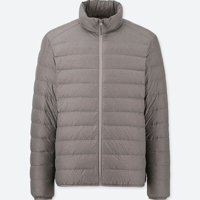 UNIQLO ULTRA LIGHT DOWN JACKET - SEM CAPUZ (GRAY) - MASCULINO