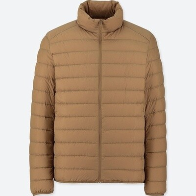 UNIQLO ULTRA LIGHT DOWN JACKET - SEM CAPUZ (BROWN) - MASCULINO