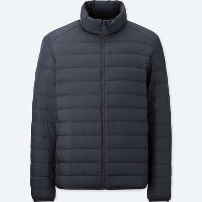 UNIQLO ULTRA LIGHT DOWN JACKET - SEM CAPUZ (NAVY) - MASCULINO
