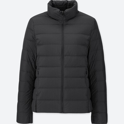 UNIQLO ULTRA LIGHT DOWN JACKET - SEM CAPUZ (BLACK) - FEMININO