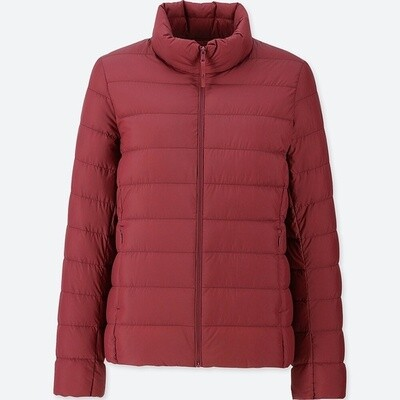 UNIQLO ULTRA LIGHT DOWN JACKET - SEM CAPUZ (RED) - FEMININO