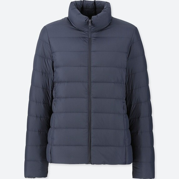 UNIQLO ULTRA LIGHT DOWN JACKET - SEM CAPUZ (NAVY) - FEMININO