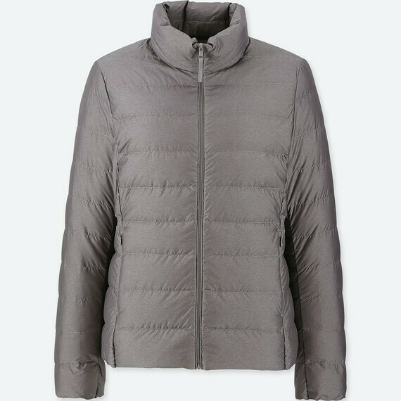 UNIQLO ULTRA LIGHT DOWN JACKET - SEM CAPUZ (GRAY) - FEMININO