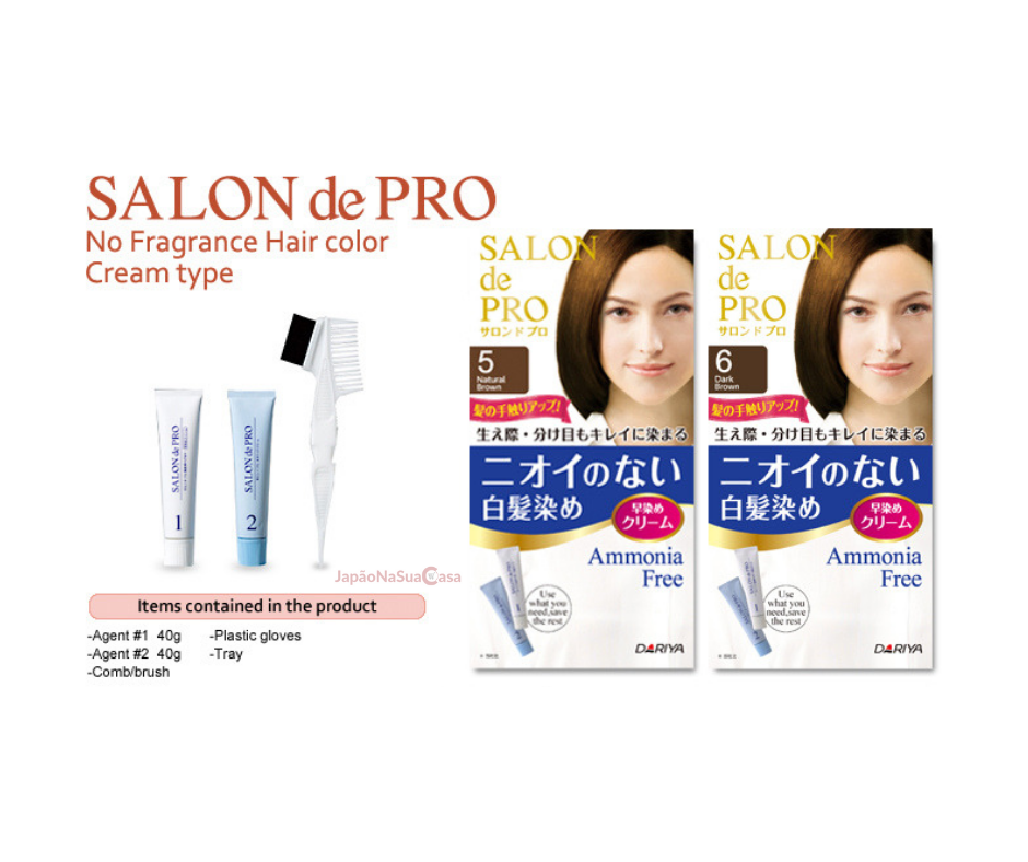 SALON de PRO No Fragrance Hair Color Cream Type