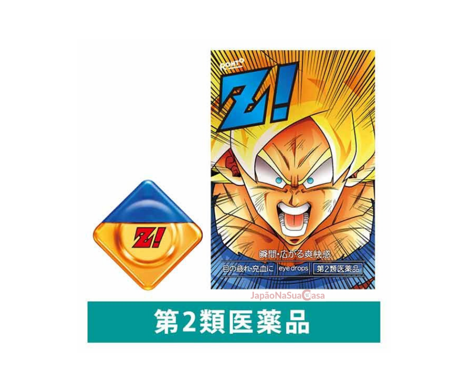 Rohto Z! Eyewash - Dragon Ball Z