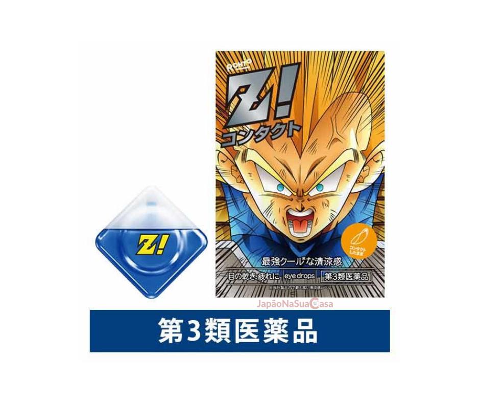 Rohto Z! Contact Eyewash - Dragon Ball Z