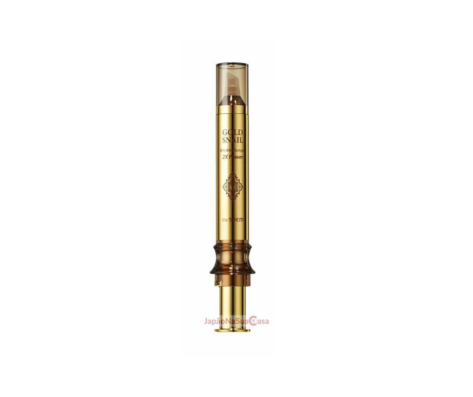 THE SAEM GOLD SNAIL Wrinkle Plumper 2X Power