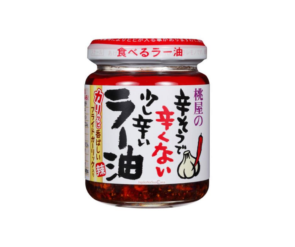 Momoya Chili Oil with Fried Garlic Taberu Layu