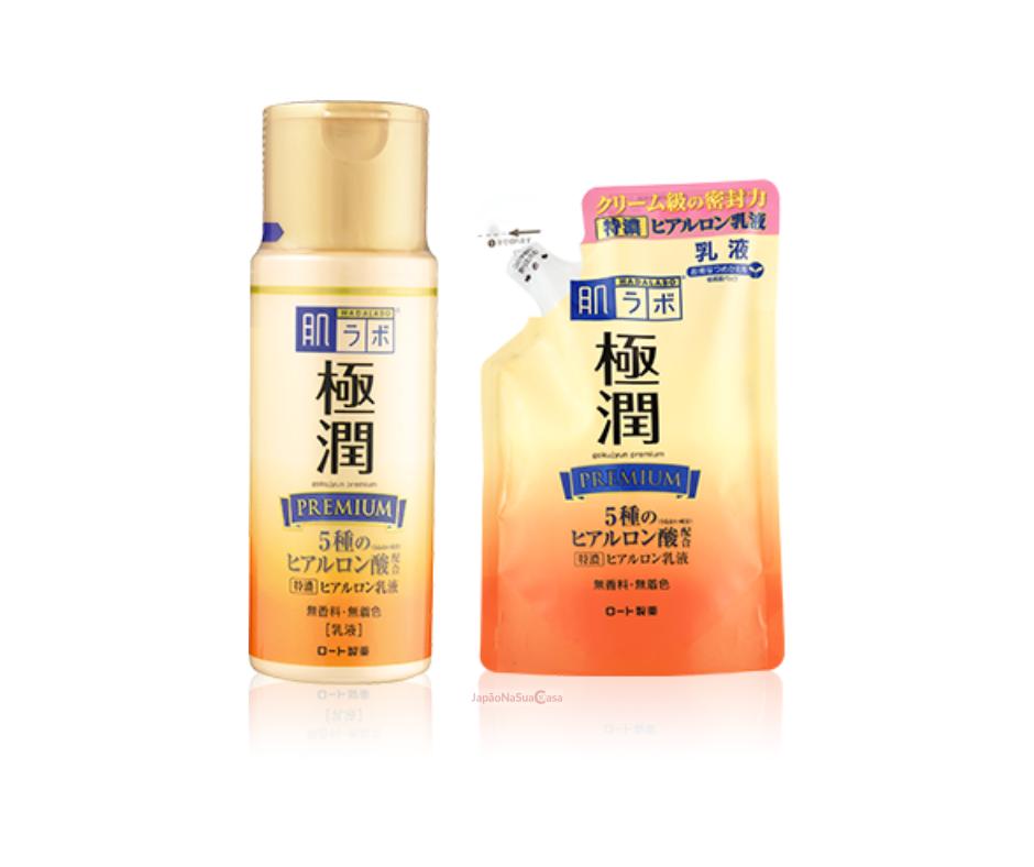 HadaLabo Gokujyun Premium Hyaluronic Milk Emulsion