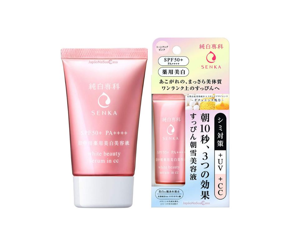 Shiseido SENKA Junpaku White Beauty Serum in CC