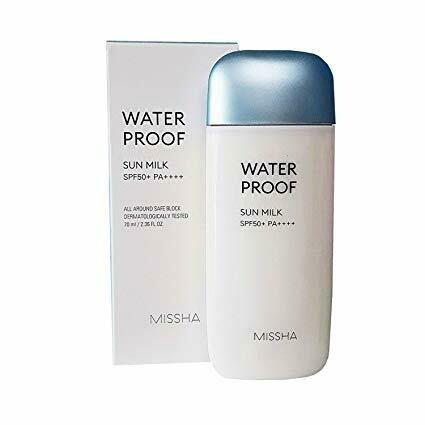 MISSHA All Around Safe Block Waterproof Sun Milk SPF50+ PA+++