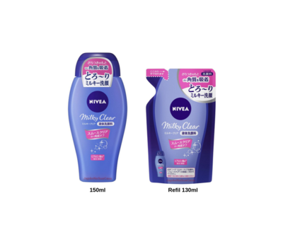 Nivea Milky Clear Facial Cleanser Smooth Clear