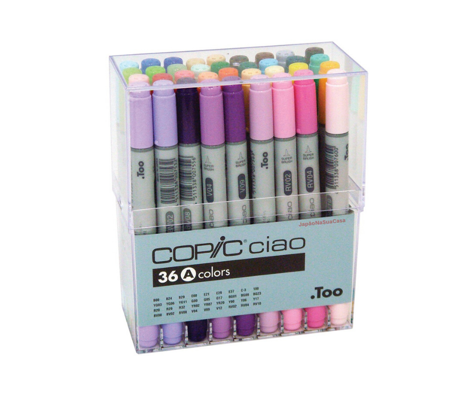 Copic Ciao 36 Color Set