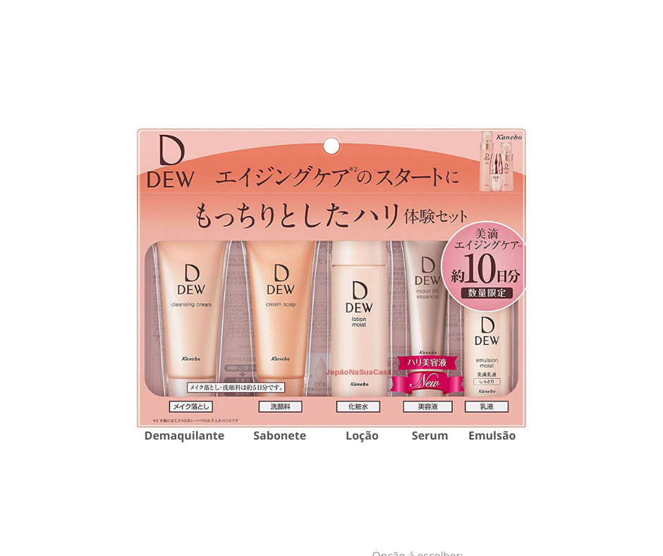 Kanebo DEW Trial Set b