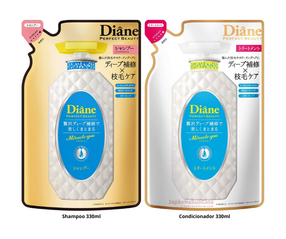 Diane PERFECT BEAUTY Miracle You Damage Repair (SHAMPOO ou TREATMENT) Refil