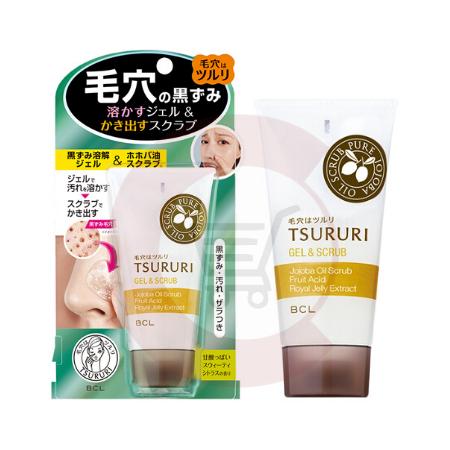 BCL TSURURI Gel & Scrub