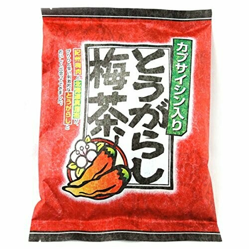 K-Mannen Togarashi Umecha (Red pepper plum tea)