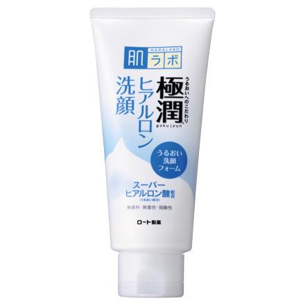 HadaLabo Gokujyun - Hyaluronic Acid Foam Face Wash
