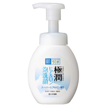 HadaLabo Gokujyun - Hyaluronic Acid Bubble Face Wash