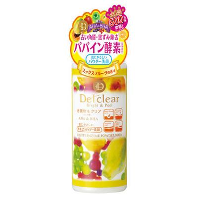 DETClear Bright & Peel Fruit Enzyme Powder Wash