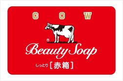 Cow brand Red Box Beauty Soap Moist (100gX3)