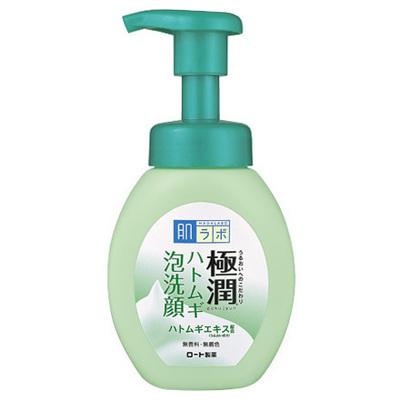 HadaLabo Gokujyun - Pearl Barley Bubble Face Wash