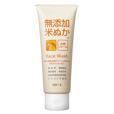 Rosette Additive-free Rice Bran Face Wash