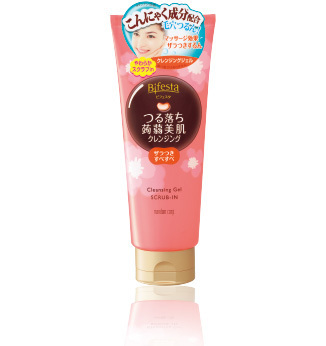 Bifesta Tsurochi Cleansing Gel SCRUB-IN