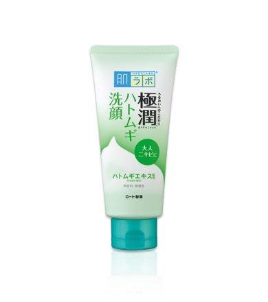 HadaLabo Gokujyun - Pearl Barley Bubble Face Wash Foam