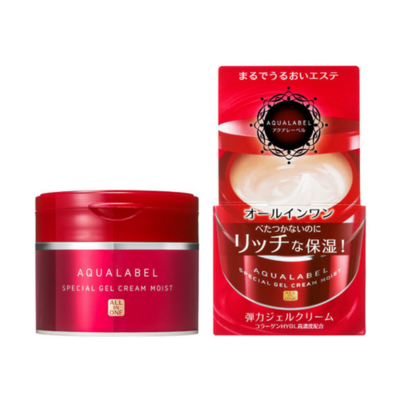 Shiseido AQUALABEL Special Gel Cream MOIST - All in One