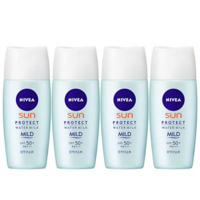 PROMOÇÃO Nivea Sun Protect Water Milk Mild - Kit com 4 unidades