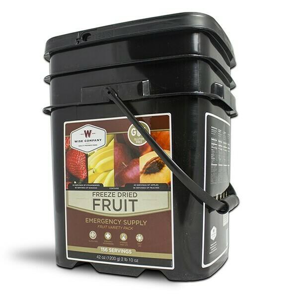 156-Serving Gluten-Free Freeze Dried Fruit Bucket